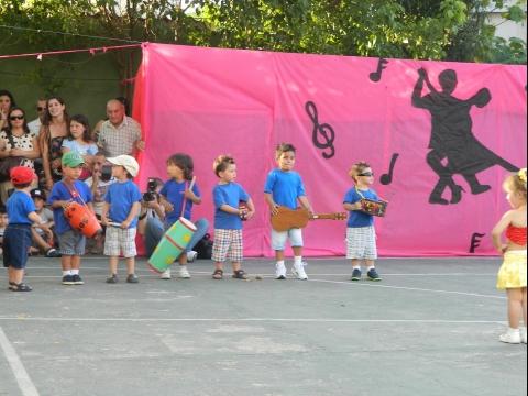 2013: Fiesta de clausura de Ed.Inicial