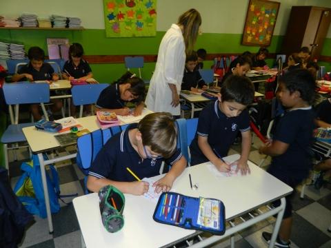 2016: Primeras semanas de educación primaria.