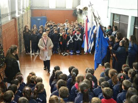 2016: Acto patrio en conmemoración de la Batalla de Las Piedras.