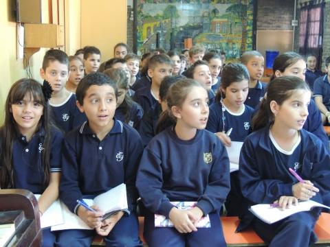 2016: Recorriendo el Colegio Tacconi.
