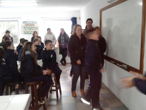 2016: 5°A brindó una clase abierta a los padres