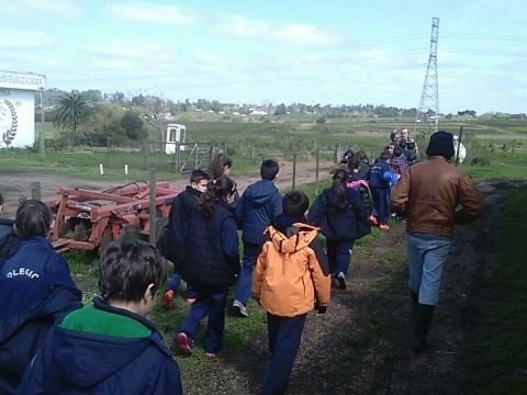 2016: 3° Y 4° visitaron el Ciclo Básico Rural.