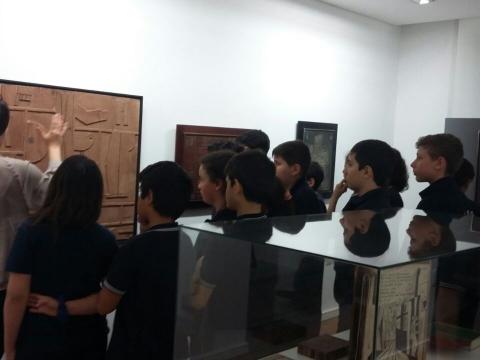 2016: 6° B visitó el museo Gurvich.