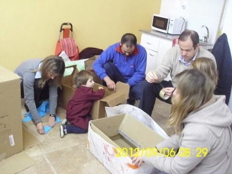 2012 Maternal y Niveles 2 y 3 A reciclan materiales.