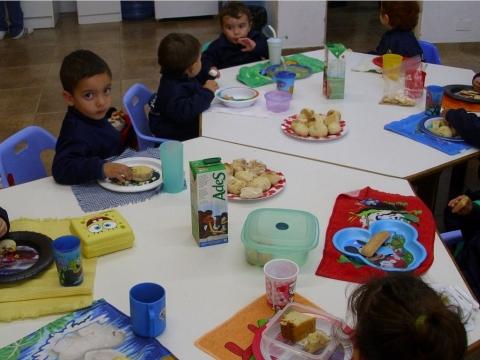 2012: ¡Hoy cocina Maternal y Nivel 2 A!