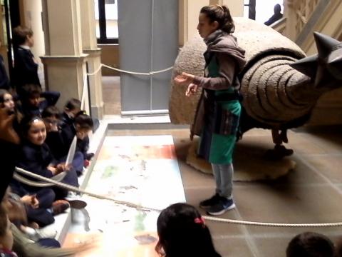 2017:  3° A visitó el Museo MAPI.