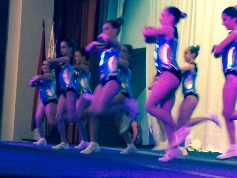 2015: Campeonato Nacional de Aeróbica y Baile.