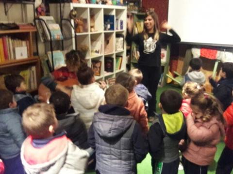 2017:  Nivel maternal, 2 y 3 visitaron la biblioteca